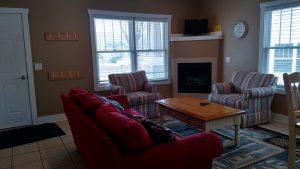 Large cottage living area