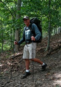 Mike Perton hiking